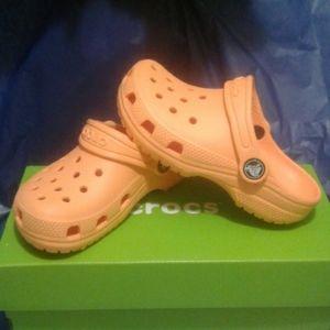 Crocs Classic Clog Canteloupe Orange